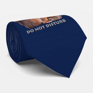 Do Not Disturb Tie (Navy)