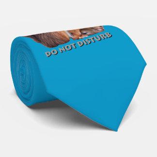 Do Not Disturb Tie (Turquoise)