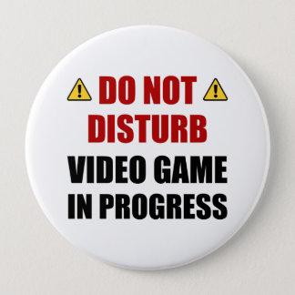 Do Not Disturb Video Game Pinback Button