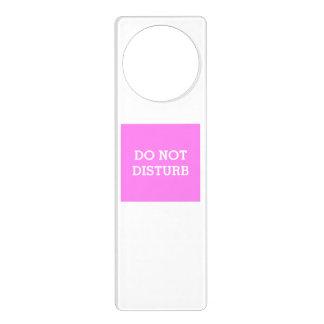 Do Not Disturb Violet Door Hanger by Janz