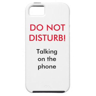Do Not DIsturbed iPhone SE/5/5s Case