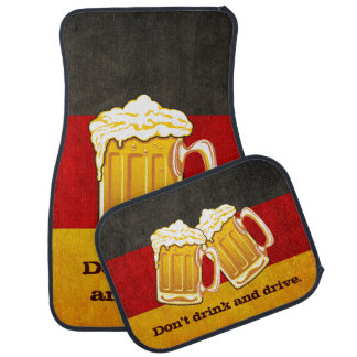 DO NOT Drink and Drive - Oktoberfest Beer Party Floor Mat