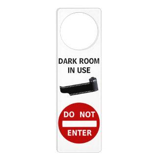 Do Not Enter Darkroom In Use Film Strip Canister Door Knob Hanger