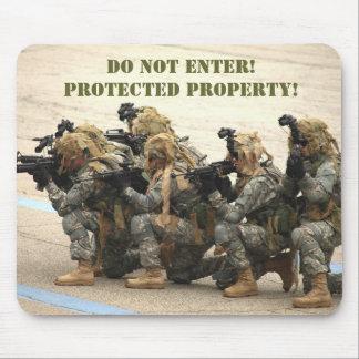 Do not enter mousepad