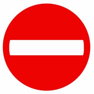 Do Not Enter Sign (Photo Sculpture) Cutout