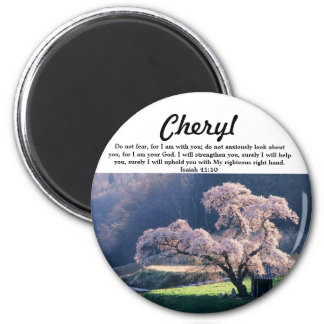 Do Not Fear ~ Cherry Blossom (Multiple Products Magnet