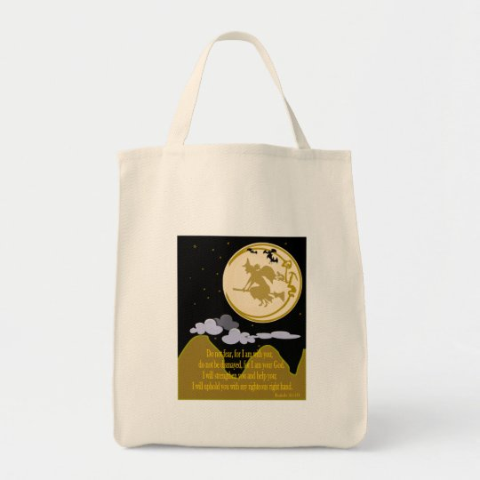 Do Not Fear - Isaiah 41:10 Tote Bag