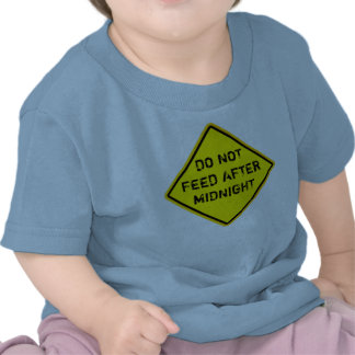 DO NOT FEED AFTER MIDNIGHT TEE SHIRT