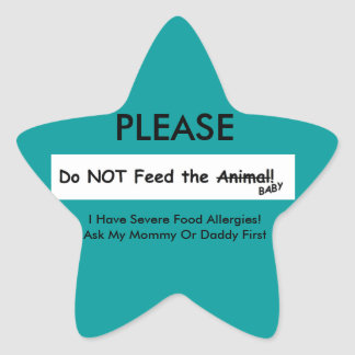 Do NOT Feed the Animal! sticker
