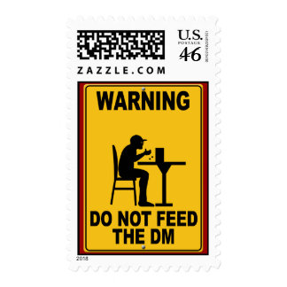 Do Not Feed the DM Postage