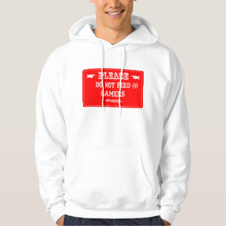Do Not Feed The Gamers Hooded Sweatshirt