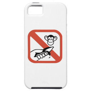 Do Not Feed The Monkey (2) iPhone 5 Covers