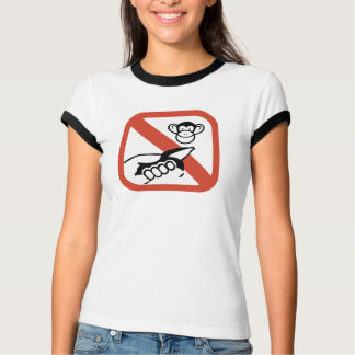 Do Not Feed The Monkey (2) T-Shirt