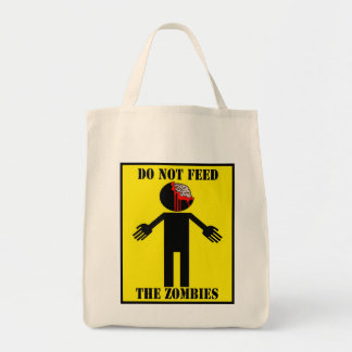 """""""DO NOT FEED THE ZOMBIES"""" bag"""