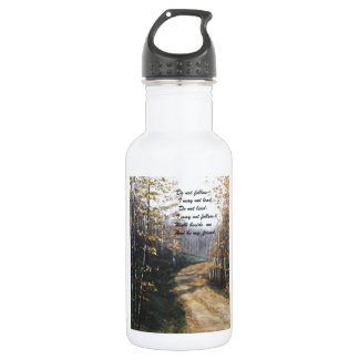DO NOT FOLLOW I MAY NOT LEAD STAINLESS STEEL WATER BOTTLE