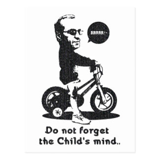 Do not forget the Child's mind. Postcard