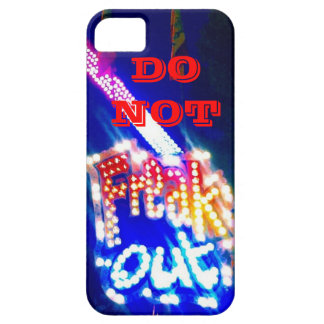 Do Not Freak Out Neon Carnival Graphic Art Photo iPhone SE/5/5s Case