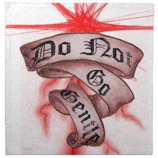 Do Not Go Gentle Printed Napkin