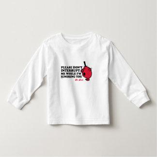 Do Not Interrupt Mr. Rude Toddler T-shirt