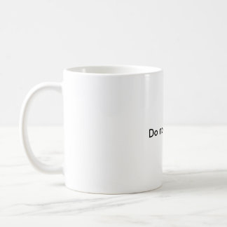 Do not interrupt mug