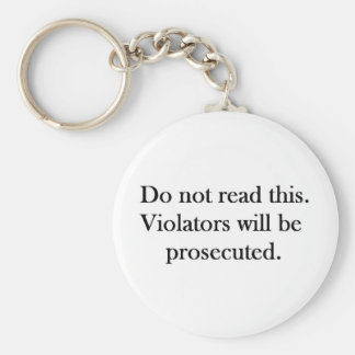 DO not Keychains