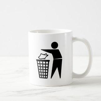 Do Not Litter Symbol Coffee Mug