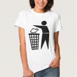 Do Not Litter Symbol T-Shirt