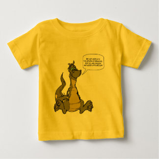 Do not meddle in the affairs of Dragons. Baby T-Shirt