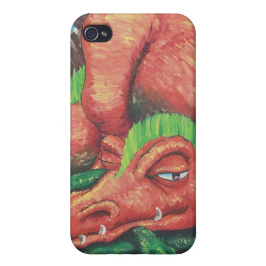 Do Not Meddle in the Affairs of Dragons iPhone 4 Cover