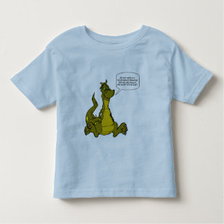 Do not meddle in the affairs of Dragons. Toddler T-shirt