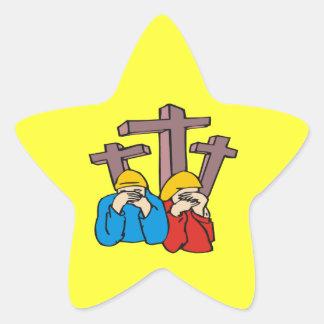 Do Not Mourn Rejoice Star Sticker