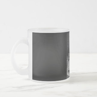Do not only wish! frosted glass coffee mug