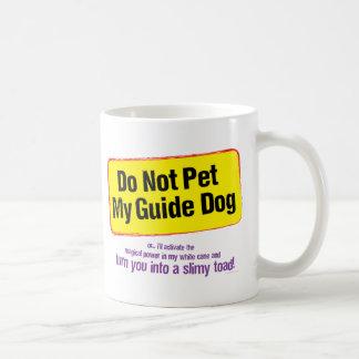 Do Not Pet My Guide Dog! Coffee Mug