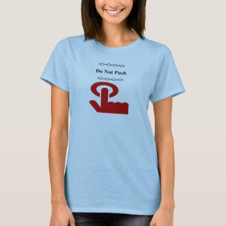 Do Not Push Button T-Shirt