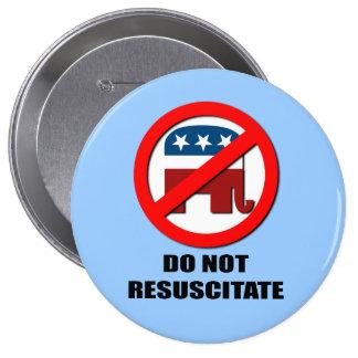 Do Not Resuscitate Pinback Button