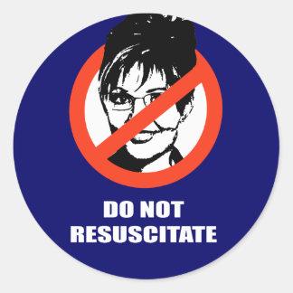 Do Not Resuscitate Stickers
