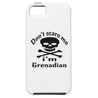 Do Not Scare Me I Am Grenadian iPhone SE/5/5s Case