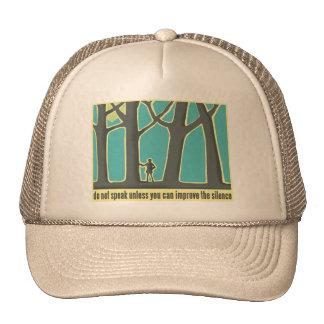 Do Not Speak Tree Hugger Trucker Hat