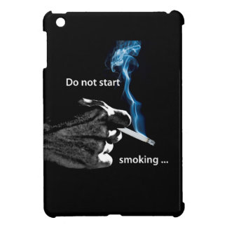 Do not start smoking ... cover for the iPad mini
