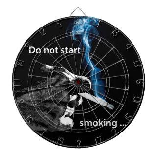 Do not start smoking ... dartboards
