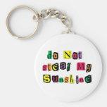 Do Not Steal My Sunshine Keychain