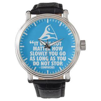 DO NOT STOP - Canoe Sprint Motivational Watch