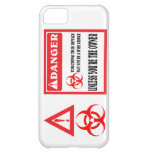 Do not touch the phone. cover for iPhone 5C