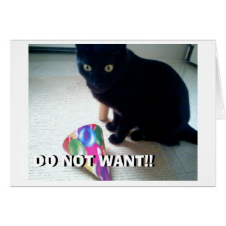 DO NOT WANT!! CARD