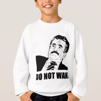 Do Not Want Massimo Does Not Want Sweatshirt