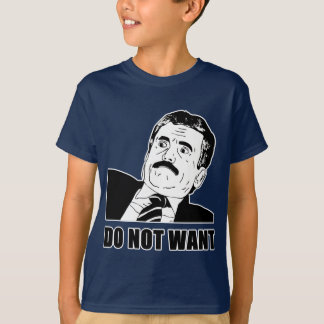 Do Not Want Massimo Does Not Want T-Shirt