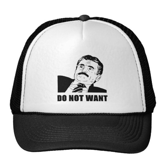 Do Not Want Massimo Does Not Want Trucker Hat