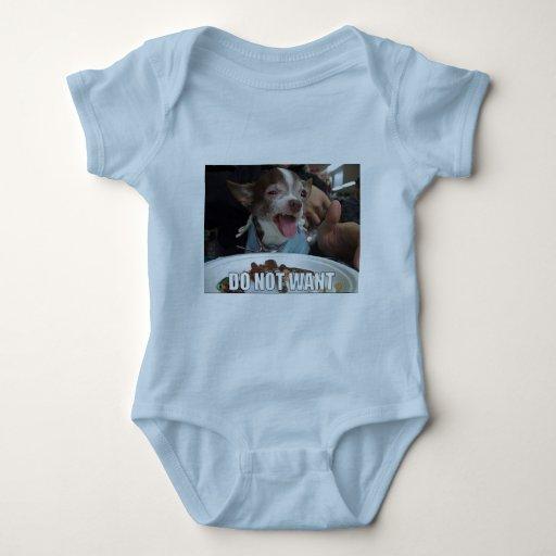 Do not want meme dog shirt