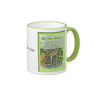 Do Not Worry with Sparrow Mug