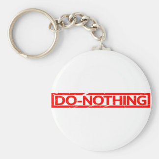 Do-nothing Stamp Keychain